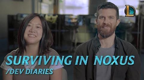 Surviving in Noxus dev diary - League of Legends