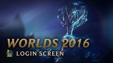 Worlds 2016 Finals - Login Screen