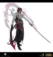 Yone Kin of the Stained Blade Concept 08