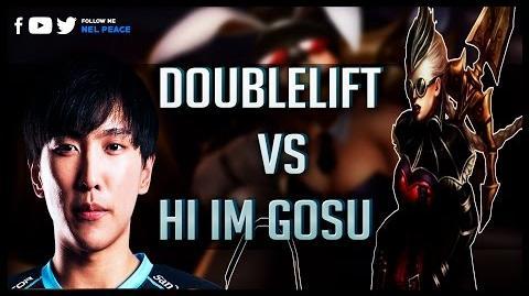 Doublelift vs Hi Im Gosu Gods of Vayne 😱