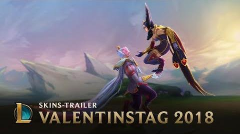 Ein Bett im Mid-Feld Herzblatt-Skins 2018 – League of Legends