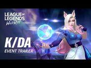 K-DA ALL OUT - Official Event Trailer - League of Legends- Wild Rift