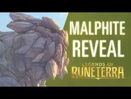 Malphite Reveal - New Champion - Legends of Runeterra