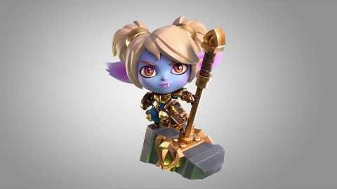 Poppy figure turnable