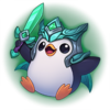 Saison 2019 - Siegreicher Pingu - Platin Sticker
