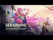 Seraphine, The Starry-Eyed Songstress - Login Screen