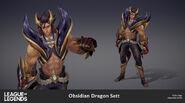 Sett ObsidianDragon Model 03
