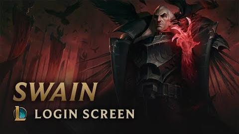 Swain, the Noxian Grand General - Login Screen