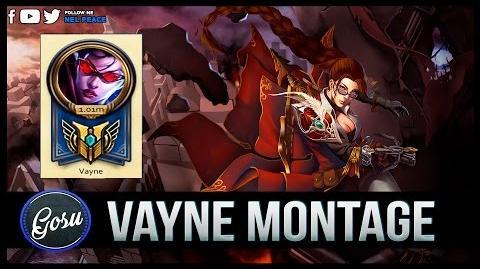 Vayne Hi Im Gosu Montage - Best Vayne 1 Million Mastery Points