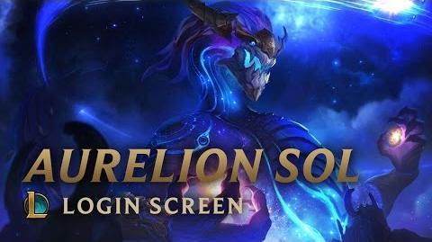 Aurelion Sol, the Star Forger - Login Screen