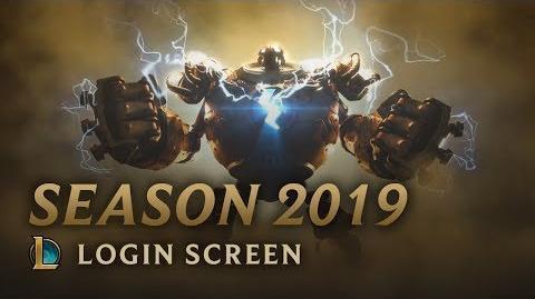 Sezon 2019 - ekran logowania