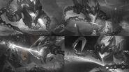 Vel'Koz Infernal Splash Concept 01