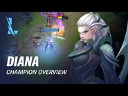 Diana Champion Overview - Gameplay - League of Legends- Wild Rift