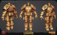 Garen Update Commando Model 01