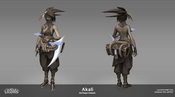 Akali Update Model 01