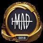 Emotka Mistrzostwa 2018 – Złote MAD