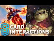 Tahm Kench, Shyvana and Soraka - Card Special Interactions