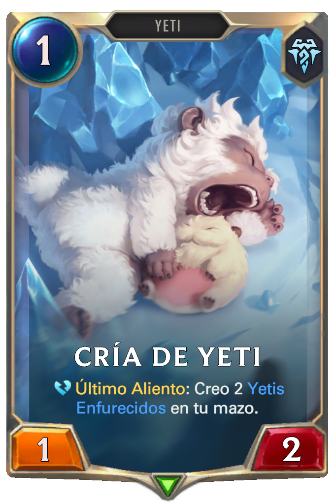 Cría de Yeti (Legends of Runeterra)