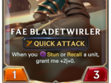 Fae Bladetwirler (Legends of Runeterra)