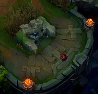 Infernal Rift blast cone location 9