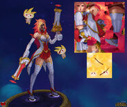 Miss Fortune StarGuardian model 03