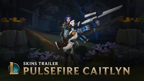 Not On Her Watch Pulsefire Caitlyn Skin Trailer - League of Legends