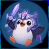 Saison 2019 - Siegreicher Pingu - Diamant Sticker