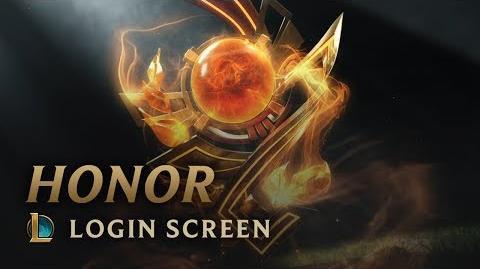 Honor - Login Screen