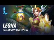 Leona Champion Overview - Gameplay - League of Legends- Wild Rift