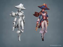 Miss Fortune Update Waterloo- model 01