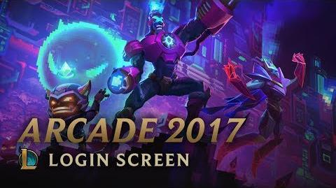 Arcade 2017 - Login Screen