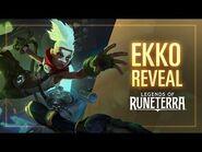 Ekko Reveal - New Champion - Legends of Runeterra