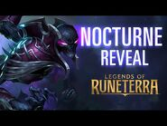 Nocturne Reveal - New Champion - Legends of Runeterra