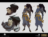 Yasuo Kin of the Stained Blade Concept 20