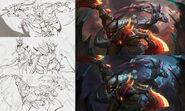 Diana Olaf Dragonslayer Splash Concept 01