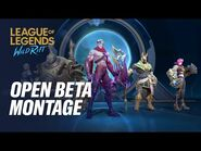 Open Beta Montage - League of Legends- Wild Rift