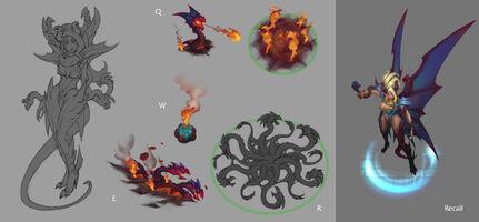Zyra Drachenherrin Konzept 04