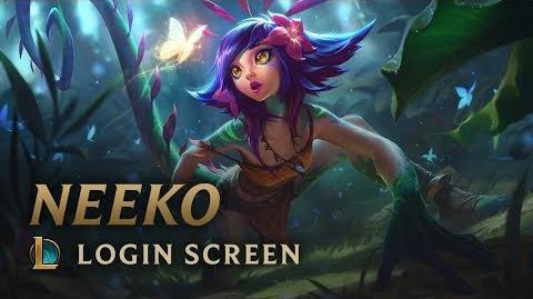 Neeko - ekran logowania
