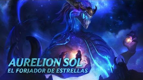 Presentación de Campeones Aurelion Sol, el Forjador de Estrellas