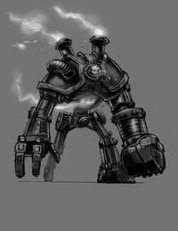 Blitzcrank Konzept Zeichnung 1
