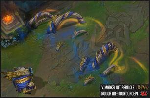 Maokai Siegreicher Fähigkeit Konzept 02