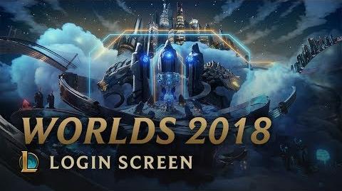 Mistrzostwa Świata Sezonu 2018 - ekran logowania