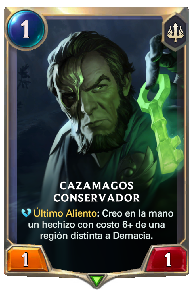 Cazamagos Conservador (Legends of Runeterra)