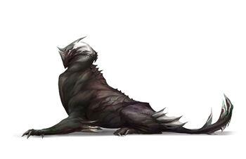 A representation of a Noxian Drake-Hound.