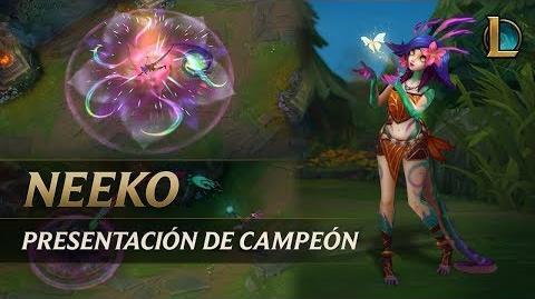 Neeko Presentación de campeón