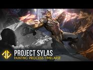Painting Prestige Project Sylas - League of Legends Splash Art Timelapse