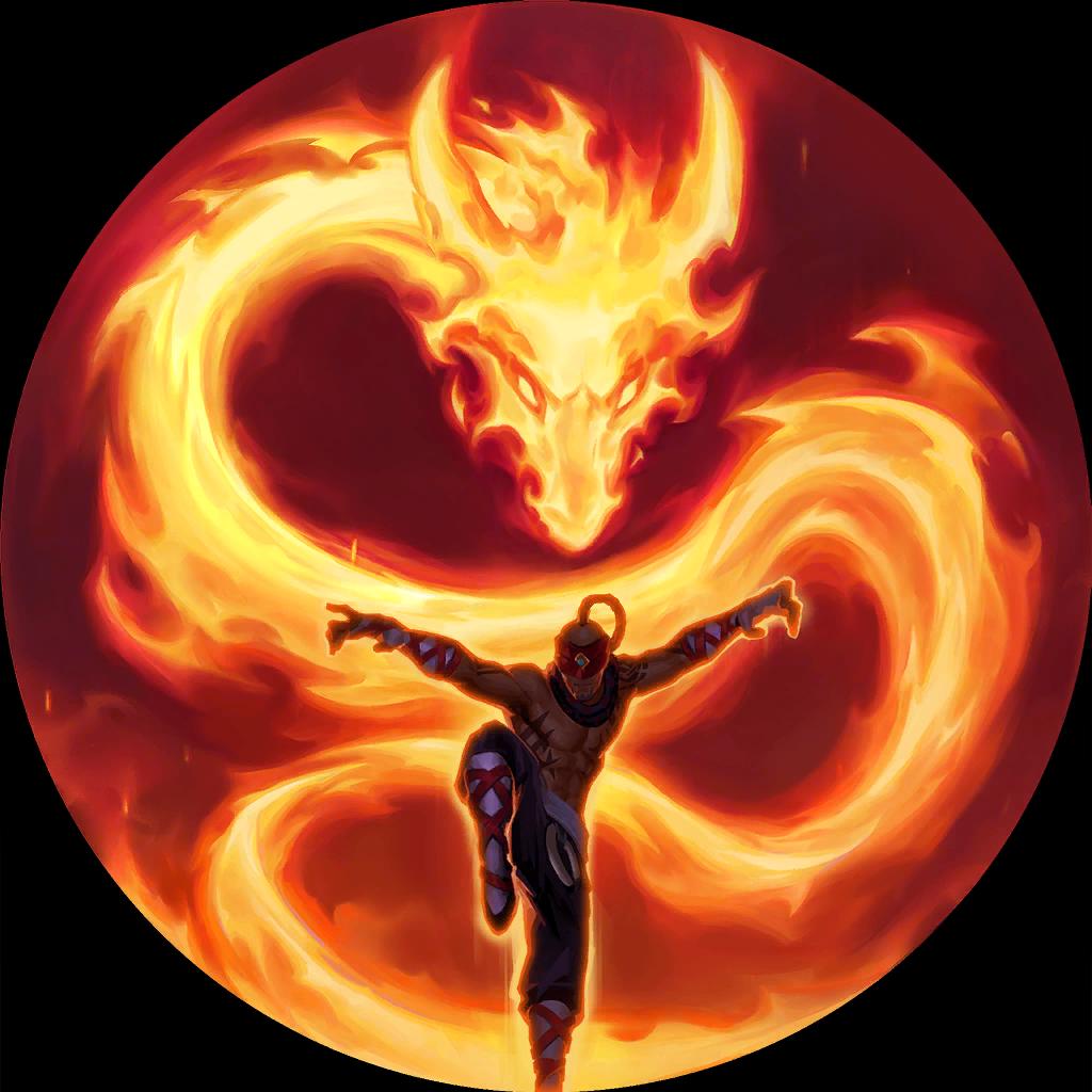 Lee Sin's Dragon's Rage (Legends of Runeterra)