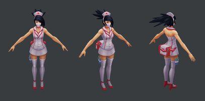 Akali Update Krankenschwester- Model 01