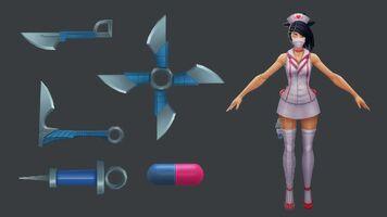 Akali Update Krankenschwester- Model 02