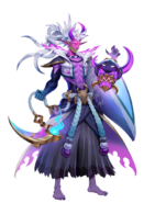 Spirit Bonds Model Thresh Half Human Blush